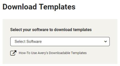 Avery Templates in Microsoft Word Averycom