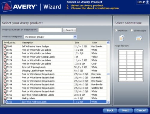 Avery Templates in Microsoft Word Averycom