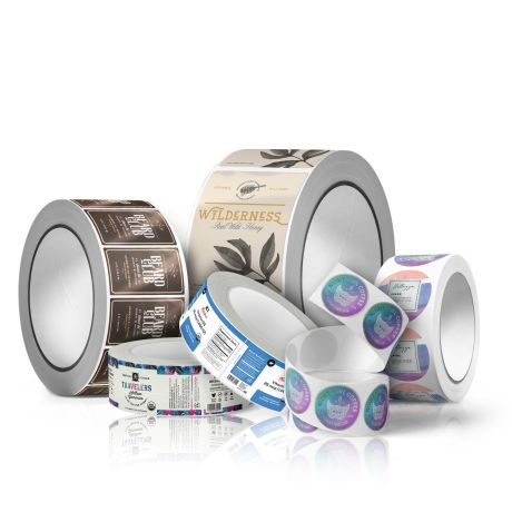 An image of Custom Printed Roll Labels