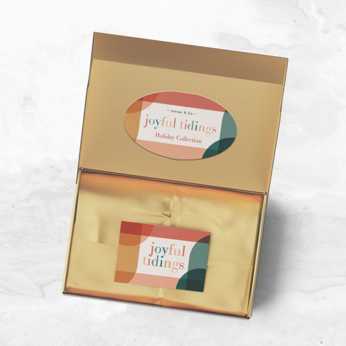 Use labels and stickers on inner flaps of boxes to create a fun unboxing experience and make your products stand out