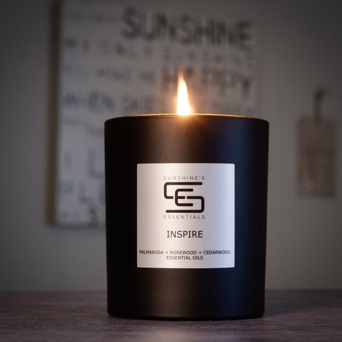 The Avery customer spotlight features Sunshine's Essentials, a candle business that started during the pandemic