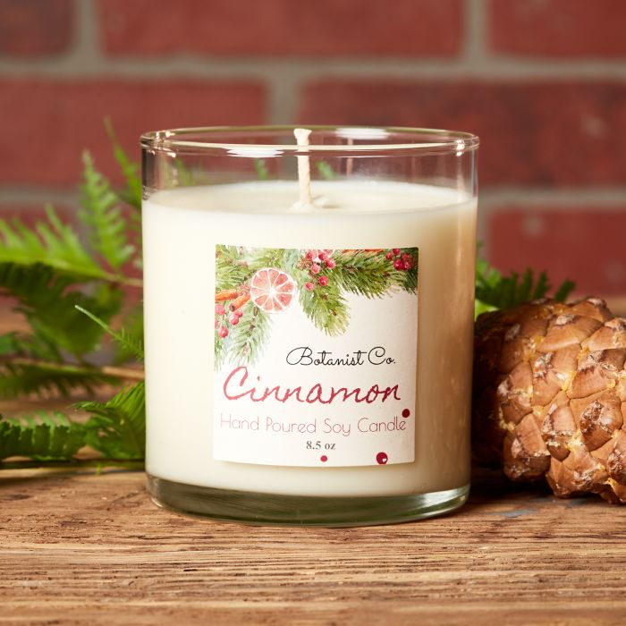 Cinnamon is always a top candle scent for the holiday season and Christmas