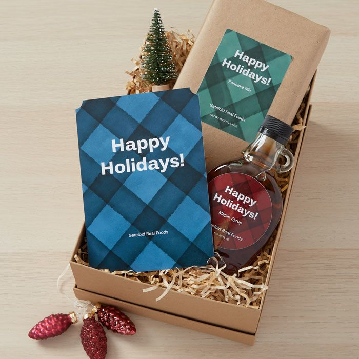 give the gift of pancakes as an easy client gift