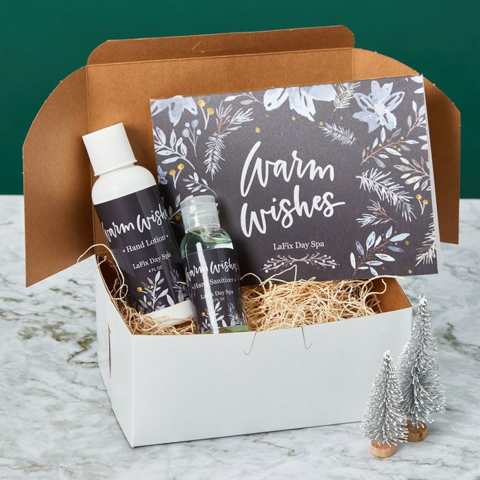 Spa items make a great holiday gift for clients.