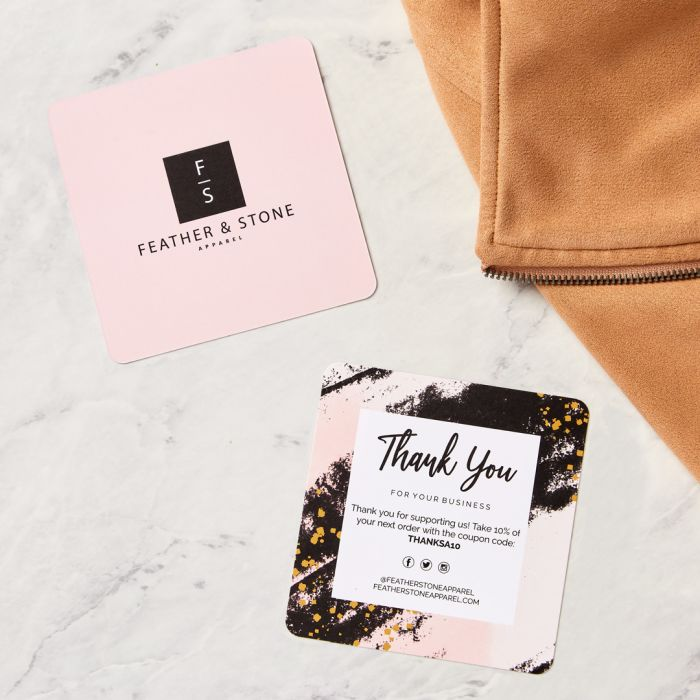 Create beautiful customer appreciation cards with square cards