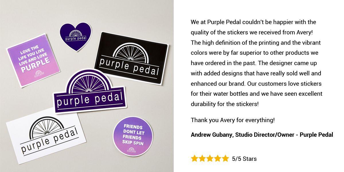 Purple Pedal