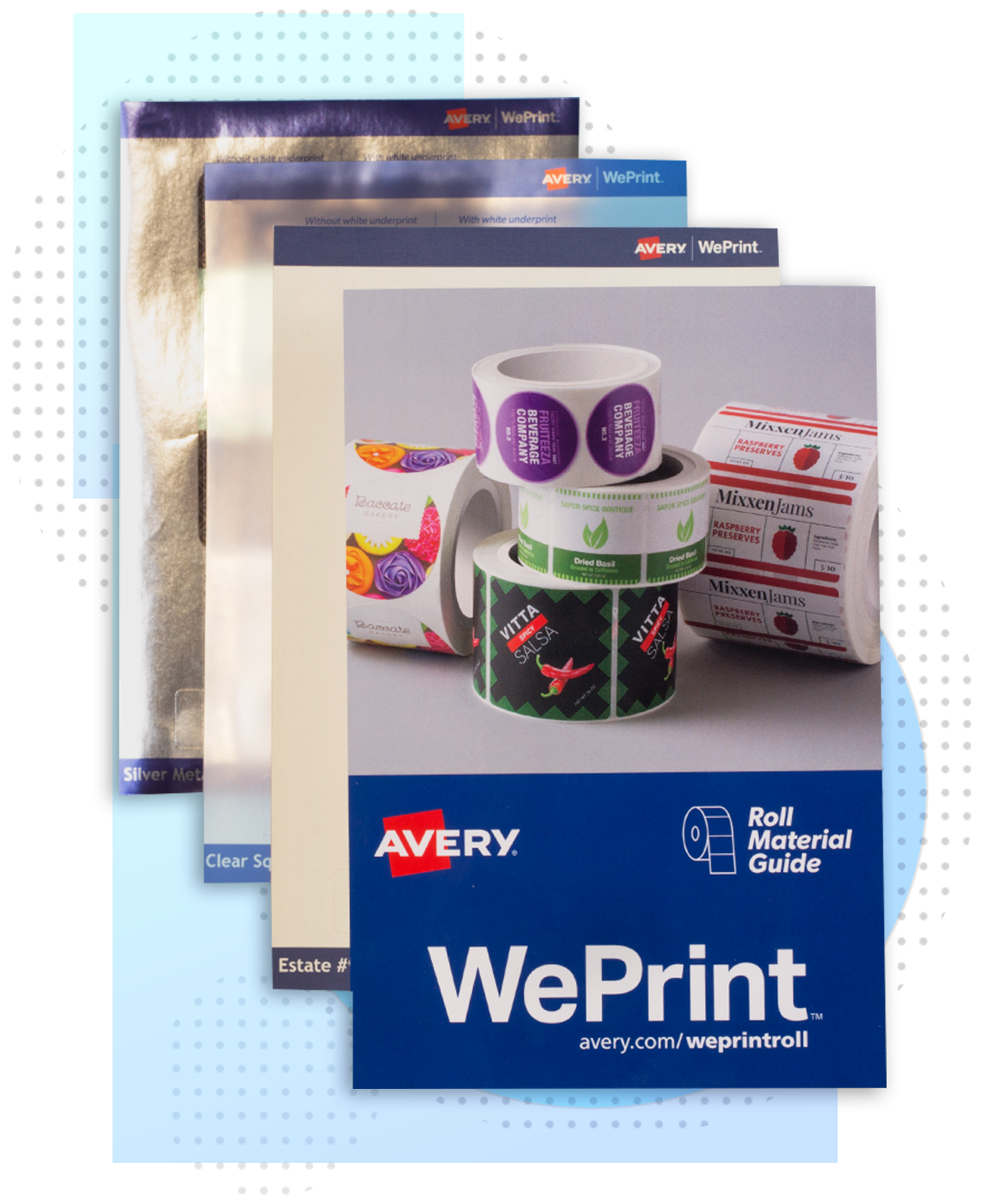 Order Your Free Avery WePrint Roll Label Sample Pack