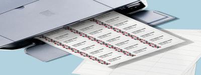 Blank Sqaure Labels