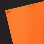 ASTROBRIGHTS® Cosmic OrangeTM Paper - Industrial Blank Sheet Labels