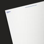EcoFriendly Matte White Paper - Industrial Blank Sheet Labels