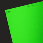 Neon Green Paper - Industrial Blank Sheet Labels