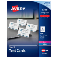 Tent Cards Place Cards Averycom - Avery name tent template