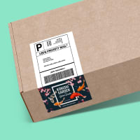 custom printed shipping labels packages boxes ebay stickers
