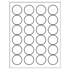 Templates For Round Labels Averycom - Round sticker template