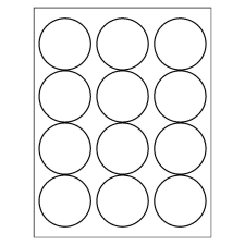 graphic relating to Printable Round Labels named Template for Avery 5294 Large Visibility Spherical Labels 2-1/2