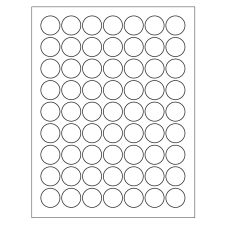 graphic about Printable Stickers Round referred to as Templates for Spherical Labels