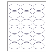 photograph regarding Oval Printable Labels known as Templates for Oval Labels
