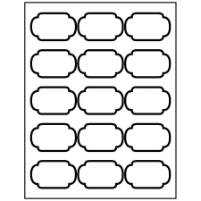 picture regarding Oval Printable Labels referred to as Templates for Oval Labels