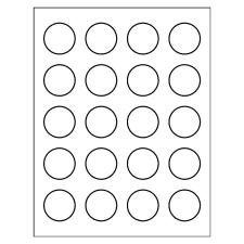 Templates for round labels avery high visibility round labels template 8293 pronofoot35fo Gallery