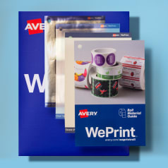 FREE Avery WePrint Sample Pack...