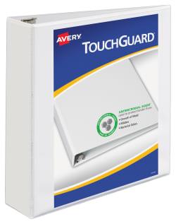 avery touchguard protection heavy duty view binders 500 sheet