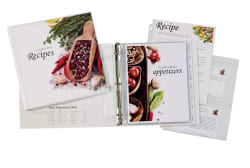 avery my recipe binder starter kit 19915 avery com