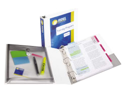 Avery® Durable View Protect & Store™ Binder, 1-1/2