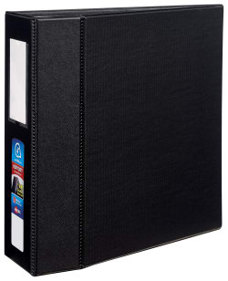 avery heavy duty binder 780 sheet capacity durahinge black 79994