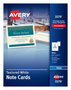 avery note cards matte 50 cards 3379 avery com