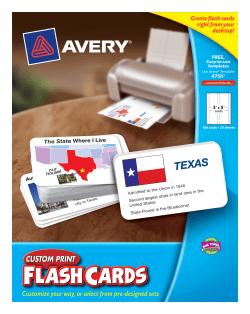 avery custom print flash cards 100 cards 4750 avery com