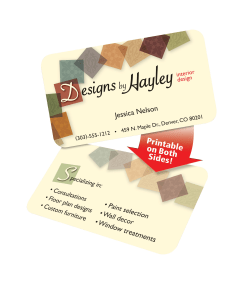 Avery clean edgereg rounded corner business cards matte ivory 160 media2 reheart Images
