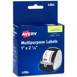 Rol by 2 1//8-inch DYMO 30336 LabelWriter Self-Adhesive Multi-Purpose Labels 1
