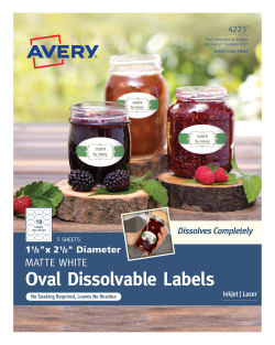 avery dissolvable labels print to the edge 90 labels 4223 avery com
