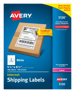 avery 5126 internet shipping labels 200 labels avery com