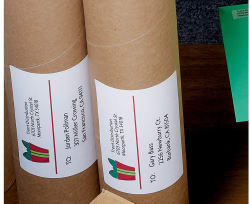 Avery shipping labels permanent adhesive 400 labels 5168 avery media4 pronofoot35fo Gallery