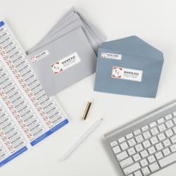 avery easy peel return address labels 1 2 x 1 3 4 2 000 labels