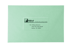 avery easy peel return address labels clear 2 000 labels 8667