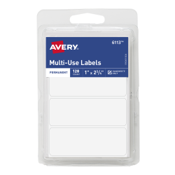 avery all purpose labels handwrite 128 labels 6113 avery com