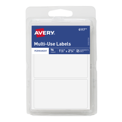 avery rectangle labels handwrite 76 labels 6117 avery com
