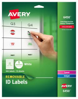 Diameter 945 Labels 6450 Avery