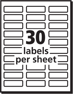 Avery color printing labels matte 600 labels 8257 avery media3 pronofoot35fo Images
