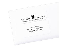 avery shipping labels permanent adhesive 600 labels 8464 avery com
