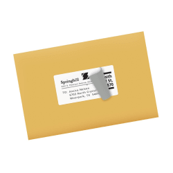 avery shipping labels permanent adhesive 100 labels 18163 avery com