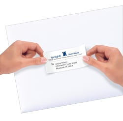 Avery repositionable shipping labels 2