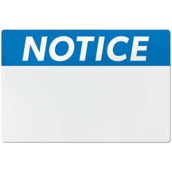 avery ansi notice header sign labels for thermal transfer printers