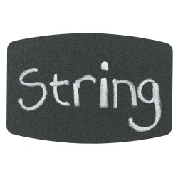 """Avery 73303 Chalkboard Label Removable 3 3//4/"""" x 1 3//4/"""" 12 labels Handwrite Reuse"""