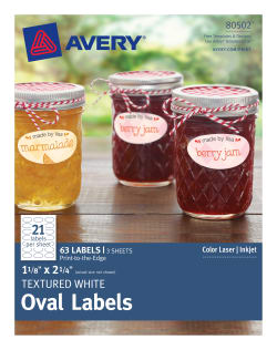 avery oval labels permanent adhesive 1 1 8 x 2 1 4 63 labels
