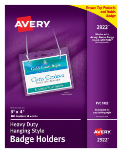 avery heavy duty hanging style badge holders 3 x 4 100 holders