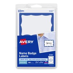 Avery name badge labels 2 1132 x 3 38 100 badges 5144 avery media1 maxwellsz