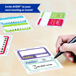 avery adhesive name tags funny meeting tags 44610 avery com